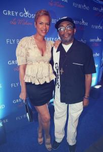 Mrs and Mr. Spike Lee